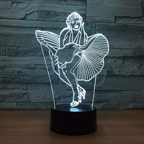 d licht schreibtisch tisch halloween dekoration geschenk urlaub usb 7 farben ändern lava lampe kinder für dame geschenk ()
