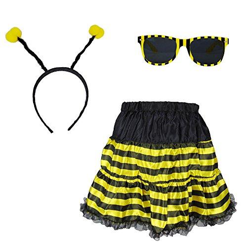 Partybob Herren Bienenkostüm - Männer-Kostüm Flotte Biene