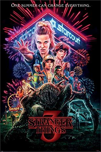 Stranger Things Maxi-Poster, Mehrfarbig, 61 x 91,5 cm