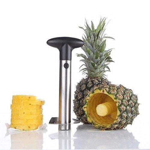Ananas Aufschnittmaschine, Edelstahl der Ananas Corer Allesschneider Peeler, Corer Schäler/Aufschnittmaschine, Tranche von Ananas, Instrument-Schnitt von Obst PC010