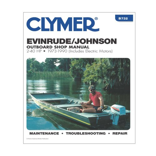 Clymer publishing the best amazon price in savemoney clymer evinrudejohnson outboard shop manual 2 40 hp 1973 1990 fandeluxe Choice Image