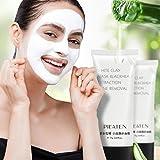 Mitesser Entferner Maske SOMESUN Weißer Schlamm Masken Reinigungsmasken Peel-off Maske für Porentiefe Reinigung Gesicht Creme Tief Reinigung Reinigend Gesichtsmaske Schälen
