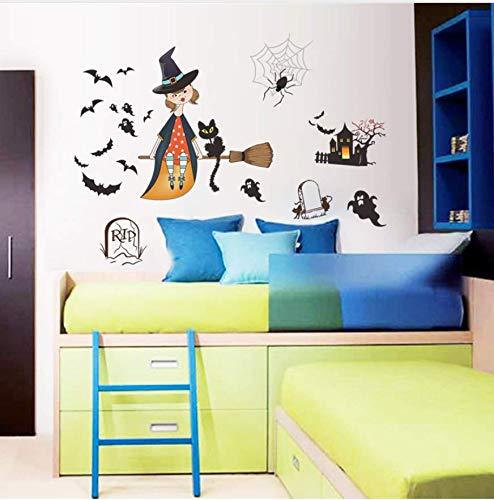 eucht Fledermaus Pvc Wandaufkleber Kinderzimmer Schlafzimmer Wohnzimmer Wohnkultur Kunst Poster Vinyl Applique Aufkleber ()