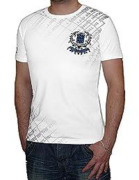 S&LU angesagtes Herren T-Shirt mit tollen Prints Größe S bis XL