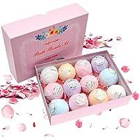LOBKIN 12 Set de regalo para bombas de baño Las mejores ideas de regalo para mujeres Niñas y niños adolescentes.