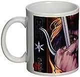 sémic–smug099–Tasse Geschenktasse D Elektra–Heroin der Comics Marvel–Weiß