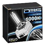 2x Xenon Brenner D3S von Gread Lights | 6000k 35W | 100% Passgenauigkeit & lange Lebensdauer!