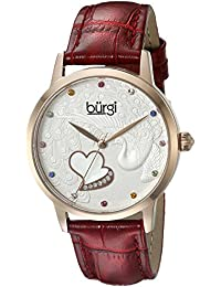 Burgi Reloj con movimiento cuarzo japonés Woman BUR149RD 36 mm