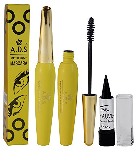 ADS Waterproof Mascara Free Kajal-POGT