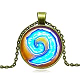 Collana Spirale HEARTHSTONE per Martelfato! Versione ORO - Warcraft HIGH QUALITY