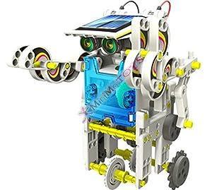 Roll-E - Robot Solar (14 Modelos Diferentes, con Instrucciones en alemán)