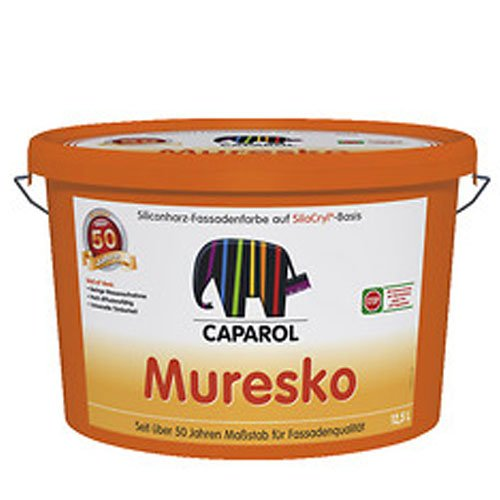 Caparol Muresko Silacryl 12,5 Liter, weiß