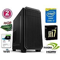 ORDENADOR SOBREMESA INTEL CORE i7 up 3.46Ghz x 4 Cores | GRÁFICA Nvidia GeForce 710 2GB | 16GB RAM | Disco Duro 1TB | RW DVD / CD