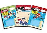 30 biglietti d'invito per feste di compleanno da bambini, Super Hero, confezione