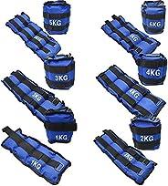 Set 2 pesas para tobillos y muñecas | Pesas para tobillos de 0.5KG a 6KG Peso Total Entre Las 2 Pesas, Diferen