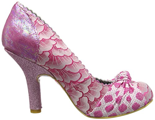 Irregular Choice - Smartie Pants, Scarpe col tacco Donna Pink (Pink Metallic)