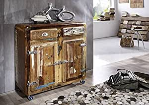MASSIVMOEBEL24.DE Altholz massiv Möbel lackiert Industrial