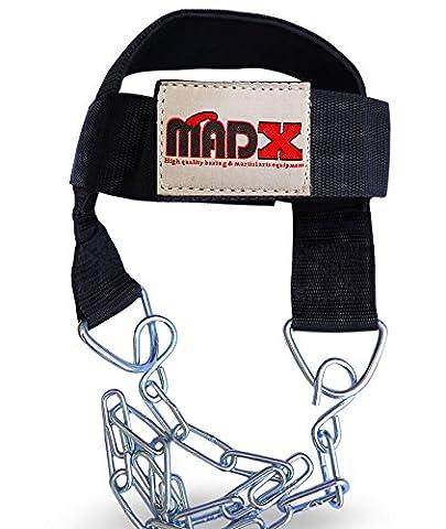 MADX Harnais de tête pour le cou exercices de musculation