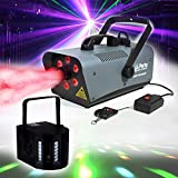Nebelmaschine 1200 W 6 LEDs RGB – Party Light & Sound fog1200led + Derby Kolor lytor