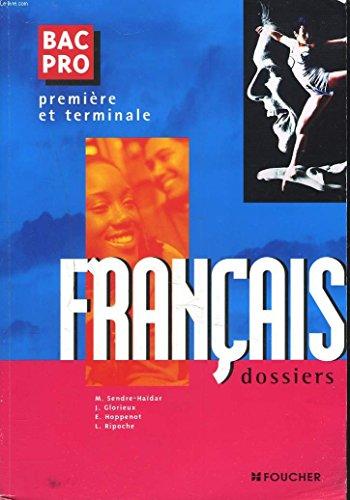 Français Bac Pro, première, terminale