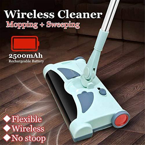 Zhengpingpai Ultra Restrained Stainless Startseite Funk Electric Hand Push-Kehrmaschine Spinning Besen Mopp Haushaltsreinigung
