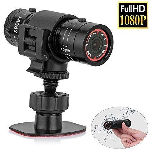 Sfun SSC001Full HD Mini Sports Camera- 1080p Action Waterproof Sport Helmet Bike Helmet Action Video Camera DVR Avi Video Camcorder- Support 32GB TF Card