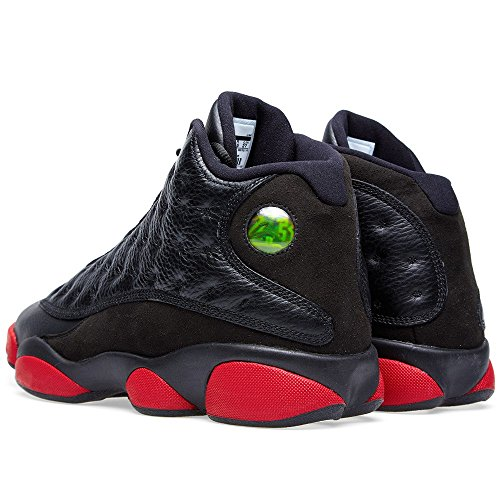Black Gym Nike Air Turnschuhe Red Blac Jordan Retro Herren 13 Schwarz q0xOg