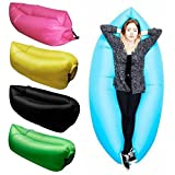 Best Blow Up Beds - Inflatable Nylon Fabric Air Lazy Sofa for Outdoor Review