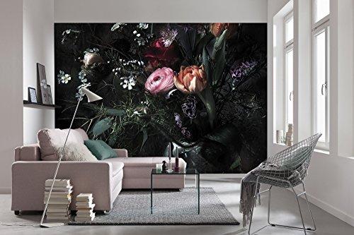 Komar - Fototapete STILL LIFE - 368 x 254 cm - Tapete, Wand Dekoration, Blumen, Blüten, Romantik,...