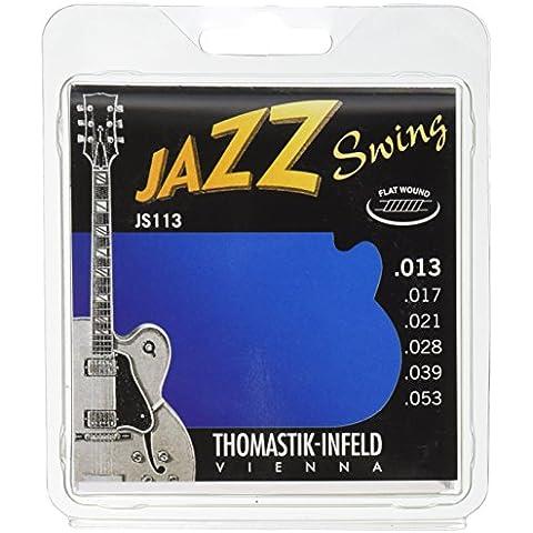 Thomastik Jazz Swing Flatwound (10-44/11-47/12-50/13-53)13-53