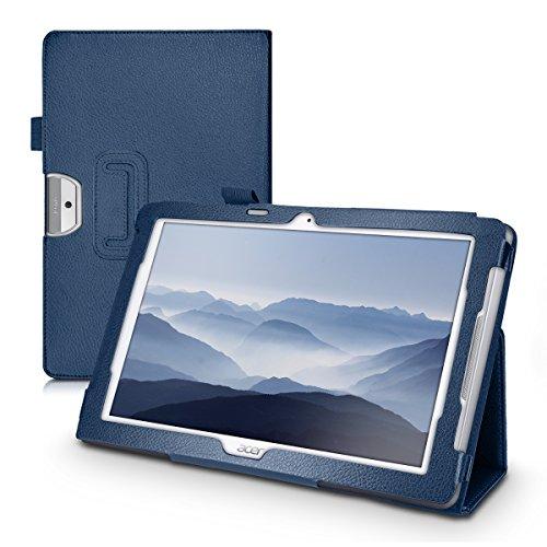 custodia tablet acer iconia one 10 kwmobile Custodia per Acer Iconia One 10 (B3-A30) - Cover protettiva per Tablet Acer Iconia One 10 (B3-A30) - Copertina in pelle PU con Stand - Smart Case