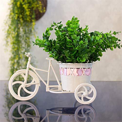 Mxfzzw fiori artificiali in plastica, soggiorno, giardino, decorazione floreale, r