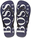 Boss Hugo Boss  Herren WaveThng Digital Zehentrenner, Blau (Dark Blue 401), 41/42 EU