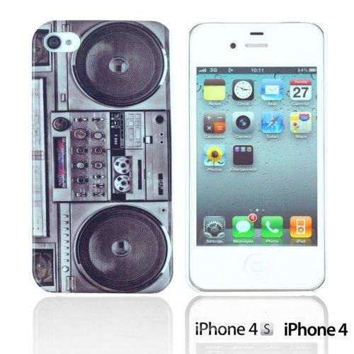 OBiDi - Designer Hard Case Cover / Housse pour Apple iPhone 4S / Apple iPhone 4 - Game Boy Radio