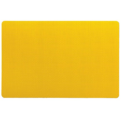Kela 11636 Calina Set de table Plastique Jaune 43,5 x 28,5 x 1 cm
