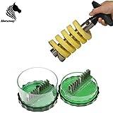 Horseway(TM) Pineapple Cutter - Garlic Cutter - Combo (Kitchen Tools)