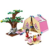 #4: Toyshine Girls Picnic Play Campers Building Blocks (172 Pieces)