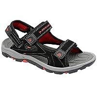 men's dunlop sports beach trekking walking hiking touch close strap sandals sizes 7 - 12