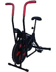 Endless EL-8201 Steel Air Bike (Red/Black)