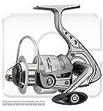 Cormoran Cortec 3PiF - Carrete de pesca con freno frontal + Incluye cadena Shimano Ultegra...