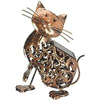 Smart Garden-Gatto in metallo a luce