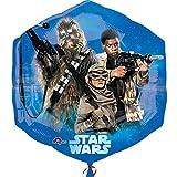 Party Palast - Party Dekoration Ballon Star Wars , Mehrfarbig
