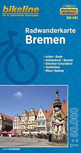 Bremen Cycling Tour Map 2014 por Bikeline