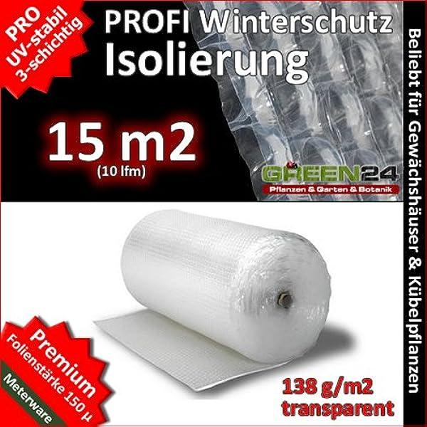 1,75€//m² Isolierfolie Noppenfolie Luftpolsterfolie Frostschutzfolie 1,5//2//2,4Met