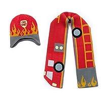 Kidorable Kidorable fireman hat/scarf set Fireman Hats and Scarves Set