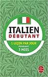 Italien débutant...