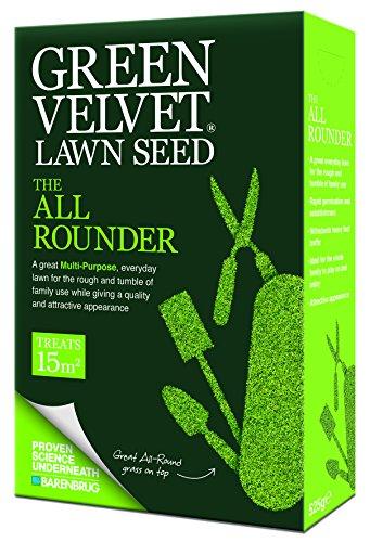 En Velours Vert 525 g tous les graines de gazon polyvalent