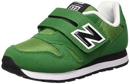 New Balance NBKV373GEI Scarpe per Bambini, Verde (Green), 22 1/2