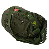 F23, Seesack, HxLxB: 50x32x32 cm, ca. 52 Liter, Parapatch, Braun/Camo, 30012-3