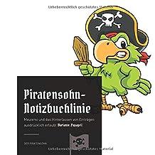 Piratensohn-Notizbuchlinie: Meuterei und das Hinterlassen von Einträgen ausdrücklich erlaubt (Variante: Papagei)